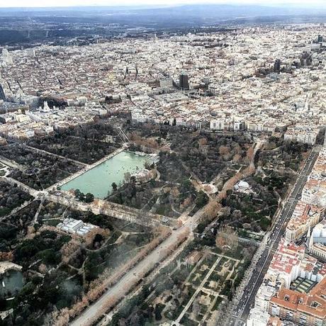 La postal de la semana: Madrid desde el cielo I