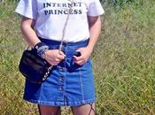 Camiseta mensaje: Internet Princess