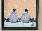 Làmina Pingüins Lámina pingüinos