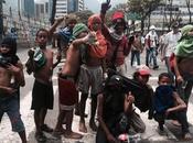 abuso niños protestas violentas antichavismo.