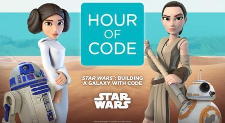 Star Wars Hour of Code en Code.org
