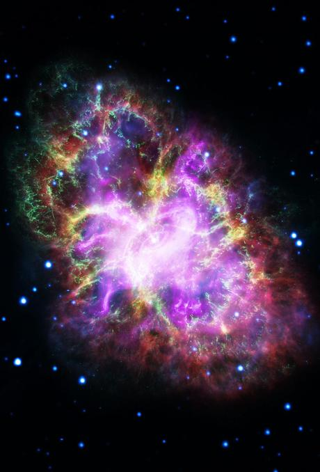 ✨La nebulosa del Cangrejo en todos los espectros