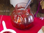 Mermelada fresas microondas solo ingredientes)
