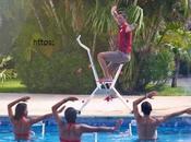 Poolbiking: deporte moda hoteles