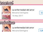 ¡¡''La enfermedad amor'' número itunes menos horas!!