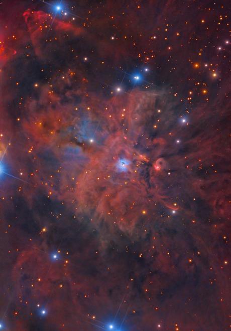 ✨Tormenta cósmica por Rolf Olsen