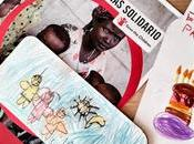 Marcapáginas Save Children. solidaridad también aprende
