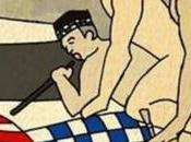 distribuye caricatura alcalde Tarragona diputado sodomizándose