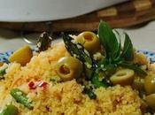 Cous cous verduras salteadas limón encurtido, sabores exóticos, cocina oriental