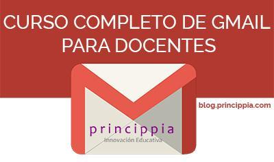 Acceso al curso completo de gmail para docentes