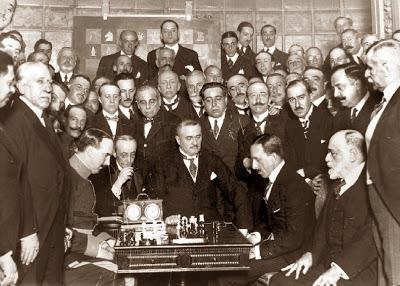 Golmayo con blancas lucha contra el Rey Alfonso XIII, Madrid, 18 de mayo de 1921