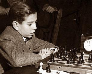 El ajedrecista Arturito Pomar