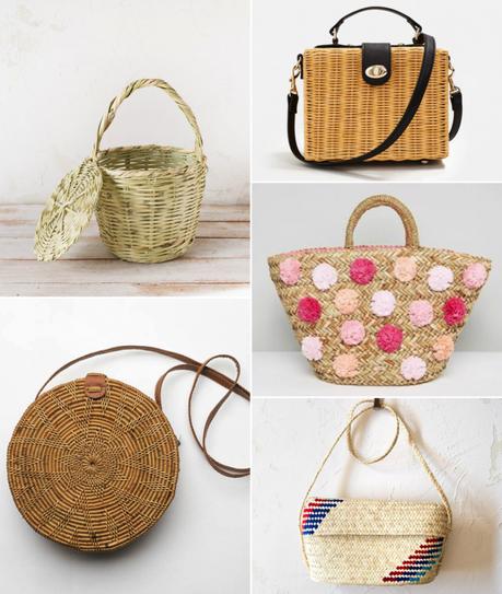 Me encantan… Los capazos y las cestas