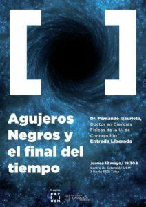"""Charla """"Agujeros Negros y el Final del Tiempo"""" en Talca"""
