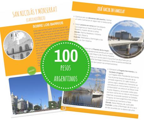 """Guía digital """"Conoce Buenos Aires en familia"""" (con actividades creativas para niños)"""
