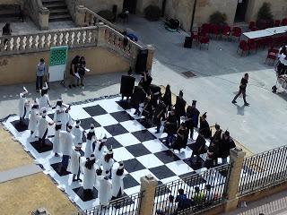 III Edición del ajedrez viviente. 2017
