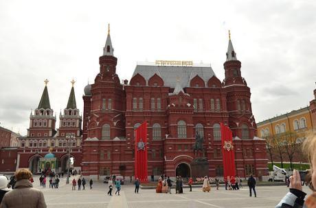 Plaza Roja y Kremlin de Moscú.