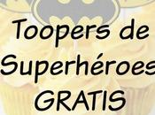 Toopers Superhéroes para imprimir GRATIS