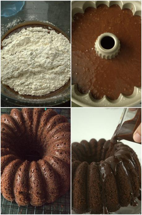 Chocolate Expresso Bundt Cake #BundtBakers