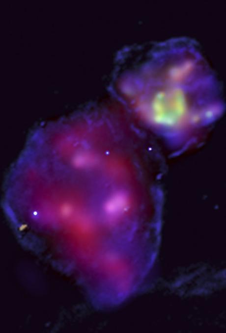 ✨Dos remanentes de supernova en la Gran Nube de Magallanes