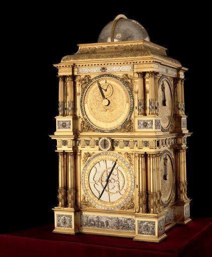 El reloj astronómico de Baldewein en Dresden