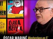 """MasterClass minutos: Óscar Mariné """"Todo Diseño"""""""