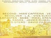 Second, Miss Caffeina, Vega, Revólver, Elefantes, Kanka Mikel Erentxun, ciclo Live Roof