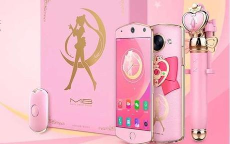 Lanzan teléfono de Sailor Moon en #China