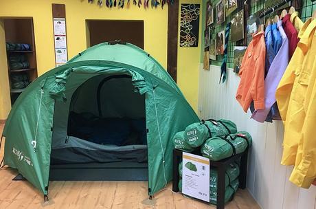 Bronwsea, una tienda donde equiparte para ir de acampada.