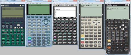Emuladores de calculadoras HP + Manuales