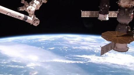 VIDEO: La ISS capta el polvo del Sahara viajando desde África hacia El Caribe