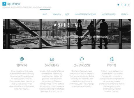 Arquirehab cambia de dominio a www.arquirehab.es