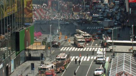 VIDEO: El momento exacto del Caos en Times Square por el atropello que causó un muerto y 22 heridos