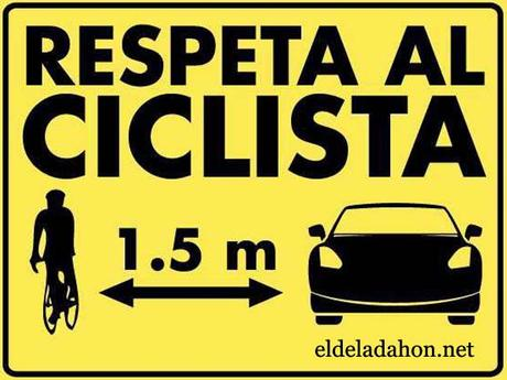 1,5m respeta al ciclista