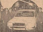 Renault unidad 100.000
