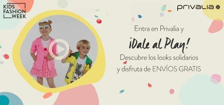 Privalia Kids Fashion Week, una pasarela solidaria.