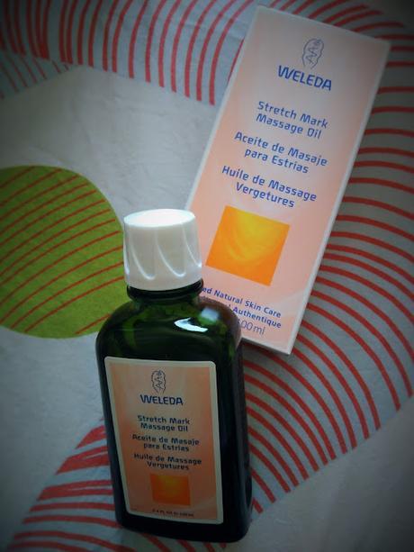 Aceite antiestrias de Weleda de Farmacia Online barata.