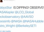 Alerta observación estrella Tabby. Ahora mismo está bajando brillo