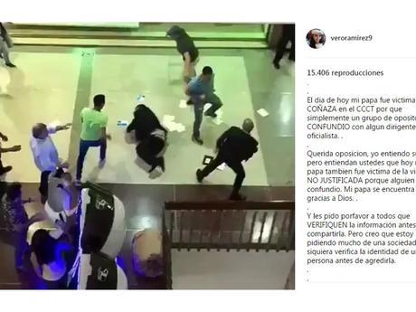 Familiares de hombre golpeado por hordas opositoras en #CCCT se pronunciaron #Venezuela