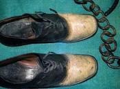 bandido convirtieron zapatos.