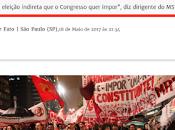 Brasil: Marchan piden renuncia Michel Temer