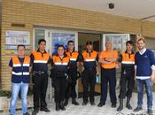 simulacro emergencia Colegio Calasancio Hispalense Montequinto