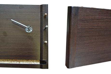 Como montar un canap abatible de madera paperblog - Herrajes para canapes ...