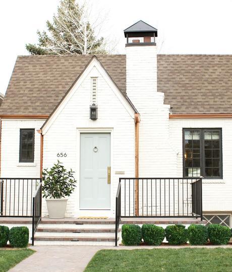 pequea casa de estilo rstico moderno