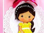 Ideas cómo personalizar bolsas regalo para bautizos niña