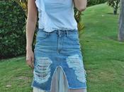 Falda Jeans Reinventada