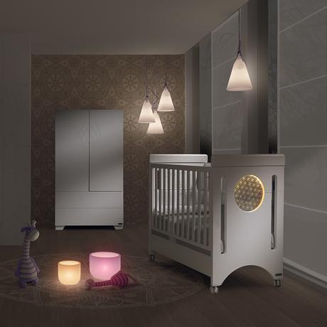 cuna baby balance de micuna con cromoterapia paperblog. Black Bedroom Furniture Sets. Home Design Ideas