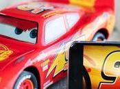 Coche Rayo McQueen, controla través smartphone
