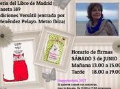 Feria Libro Madrid 2017. Horario firmas