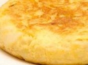 Tortilla patatas jugosa esponjosa